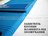 Синий противоударный силиконовый чехол бампер для Xiaomi Mi pad 4 Plus (10.1) с подставкой Flexy TPU Blue, фото 4