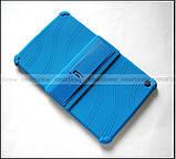 Синий противоударный силиконовый чехол бампер для Xiaomi Mi pad 4 Plus (10.1) с подставкой Flexy TPU Blue, фото 8