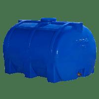 Емкость 200 литров горизонтальная Рото Европласт