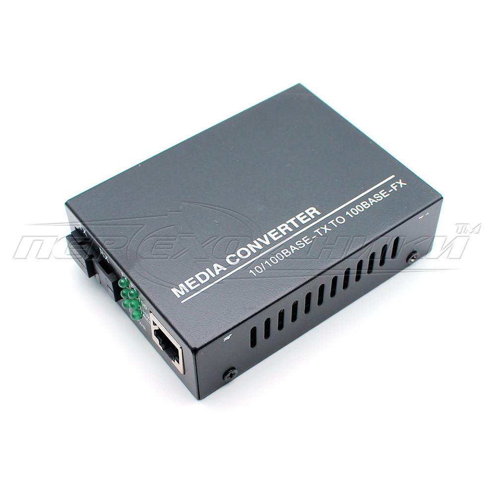 Медиаконвертер 1550 WDM (IC+113), 10/100 Мбит одноволоконный Full/Half duplex, SC 25 км