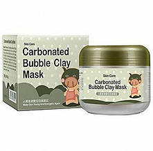 Очищаюча бульбашкова маска Bioaqua Carbonated Bubble Clay Mask