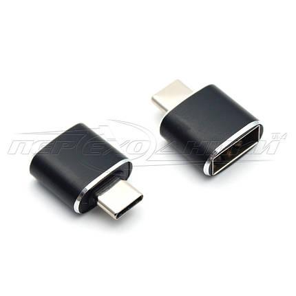Переходник Type-C Male to USB 2.0 АF, фото 2