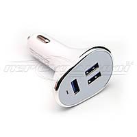 Автомобильное зарядное устройство USB 6.3A (3USB)