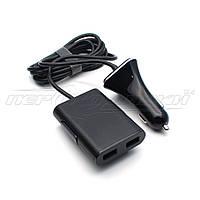 Автомобильное зарядное устройство USB 9.6A (4USB), 1.8м