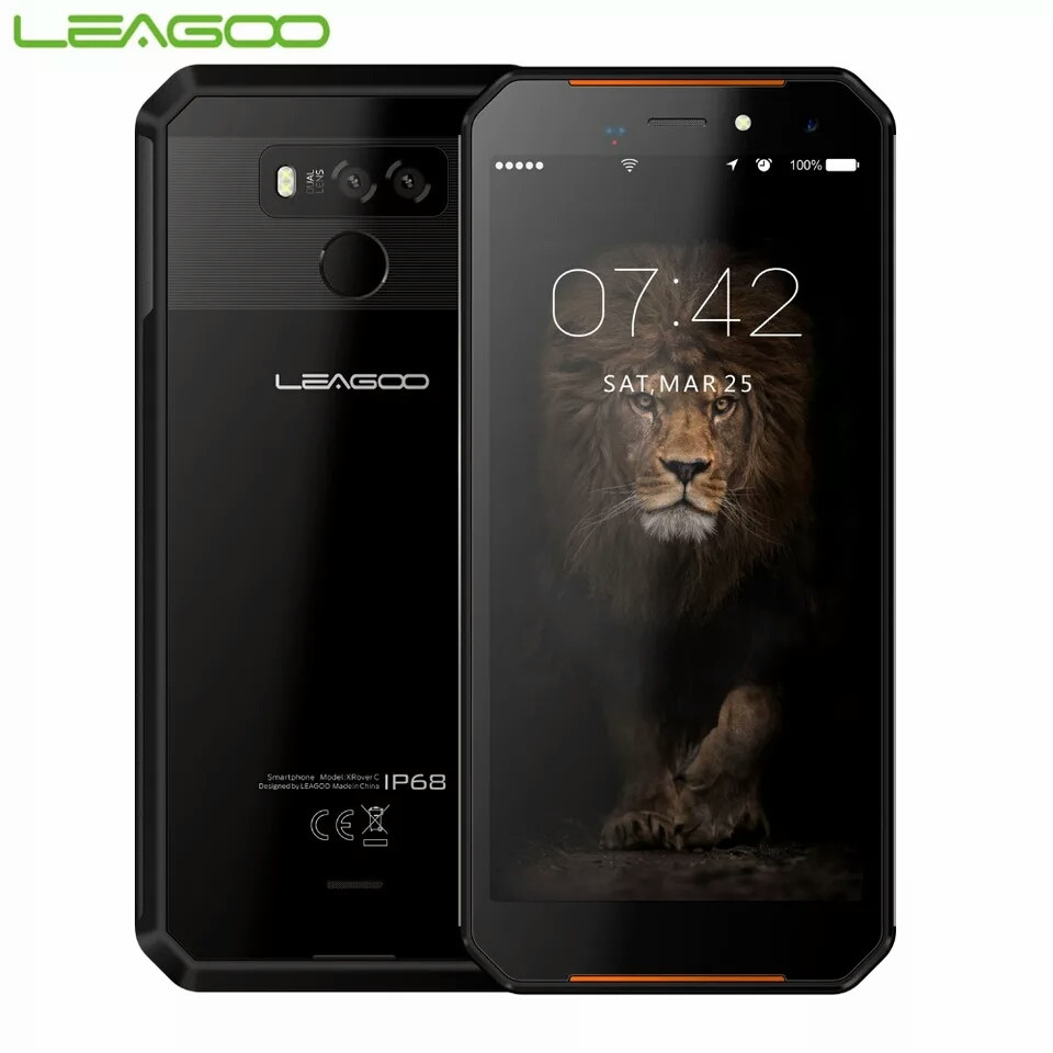 Cмартфон LEAGOO XRover C NFC, 2/16гб 5000 мАч IP68 в наличии НОВИНКА!