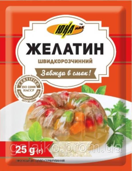 "Желатин пищевой 25г ""ЮНА"" (30"