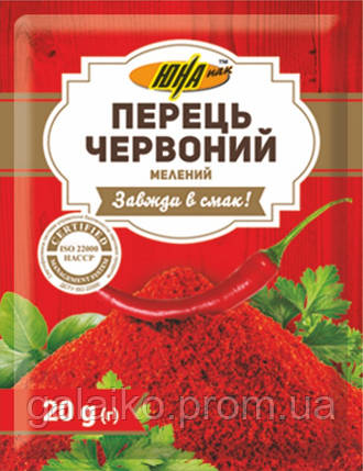 "Перец красный мол. 20г ""ЮНА"" (30), фото 2"