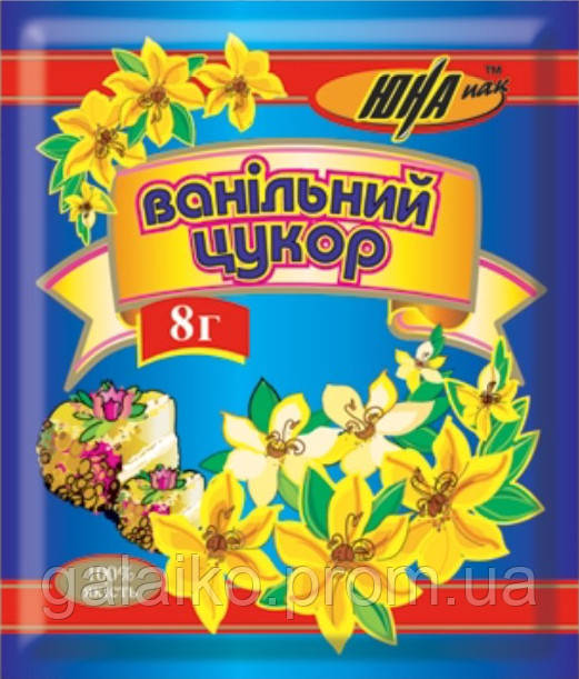 "Ванильный сахар 8г ""Юна"" (50)"