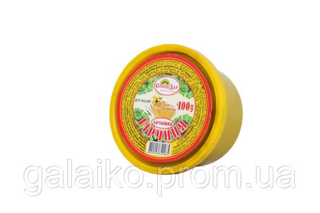 """Гірчиця """"Домашняя"""" 100г. пл.стакан """"СонцеДар""""  (10) , фото 2"""