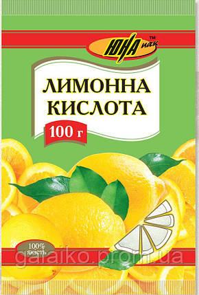 """Лимонная кислота 100г 'Юна"""" (130), фото 2"""