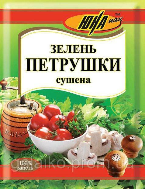 "Зелень петрушка сушеная 30г ""ЮНА"" (120)"