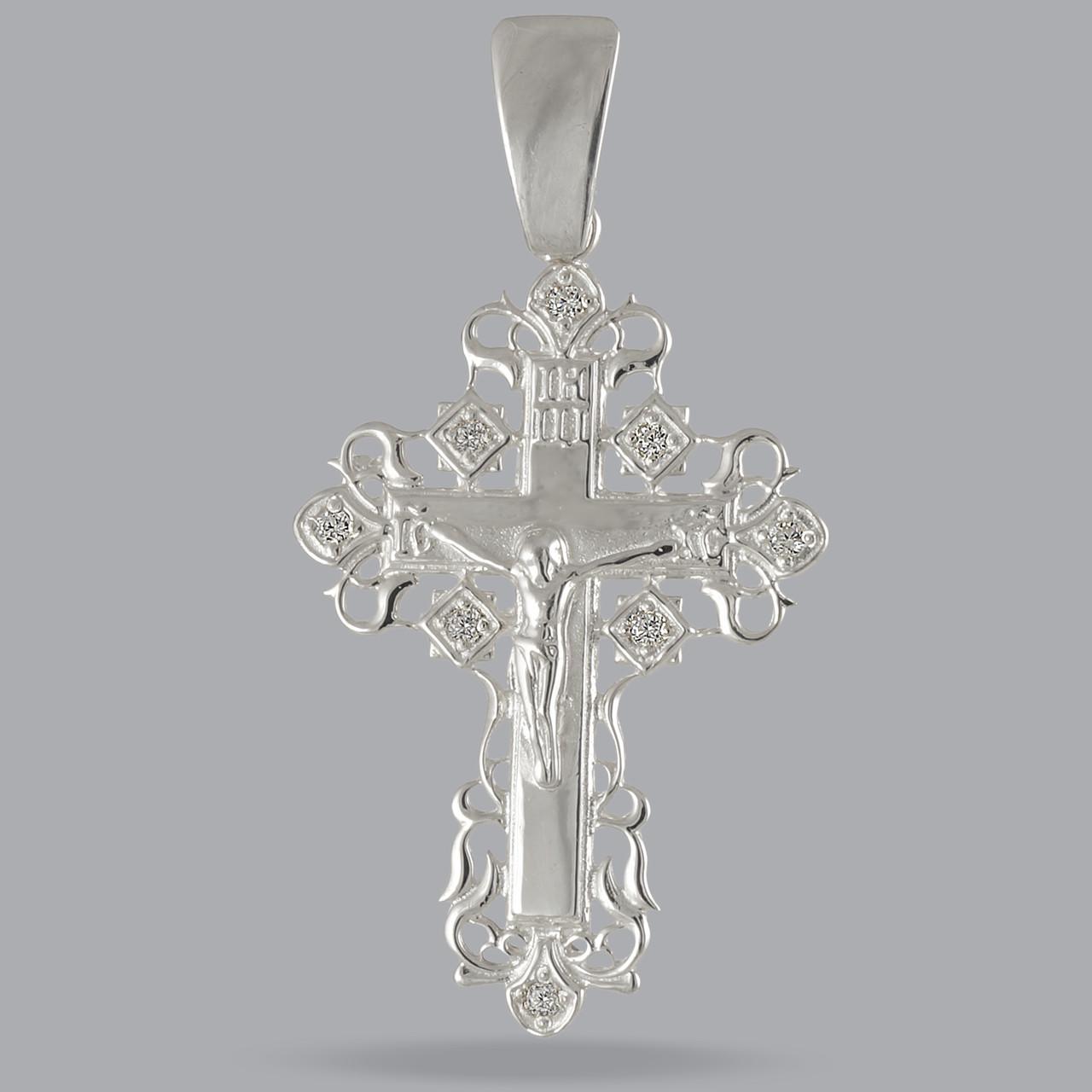 Серебряный Крест 925 пробы арт. 304кр