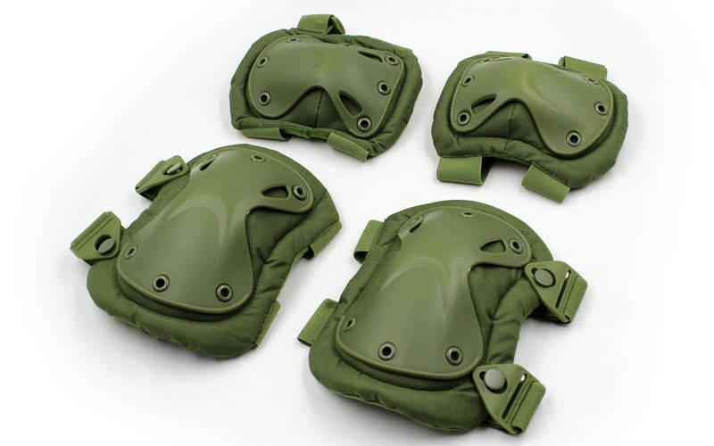 Защита тактическая Xtac наколенники, налокотники olive