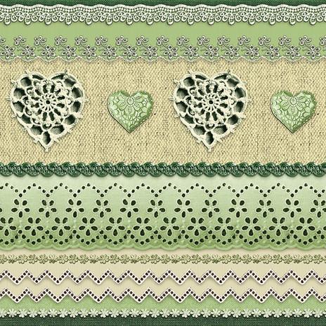 Современная клеенка на стол или стены в винтажном стиле