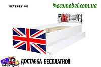 Кровать для подростка Великобритания серия Beverly (ліжко дитяче) на ламелях
