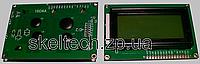 LCD1604 символьный ЖКИ экран 16х04, зелёный фон, цвет символов чёрный