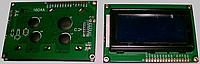 LCD1604 символьный ЖКИ экран 16х04, синий фон, цвет символов белый