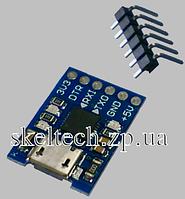 Конвертер USB-USART c разъёмом microUSB