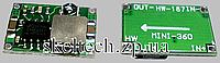 Модуль mini360 аналог LM2596 , понижающий преобразователь DC-DC, регулировка выходного напряжения
