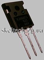 Транзистор IGBT RJH60F5 RJH60F5DPQ, Vce_sat<2.3V, диод на К-Э присутствует, проходят входной контроль