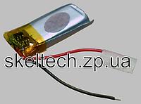Аккумулятор Li-Ion 100мА*ч размер 401225