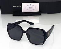 Женские солнечные очки  (9905) black, фото 1