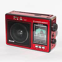 """Портативный радиоприемник """"GOLON"""" RX-006UAR USB FM Красный SD радио кардридер, фото 1"""