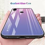 Силиконовый чехол-накладка TPU+Glass Gradient HELLO для Xiaomi Mi A2 Lite /, фото 8