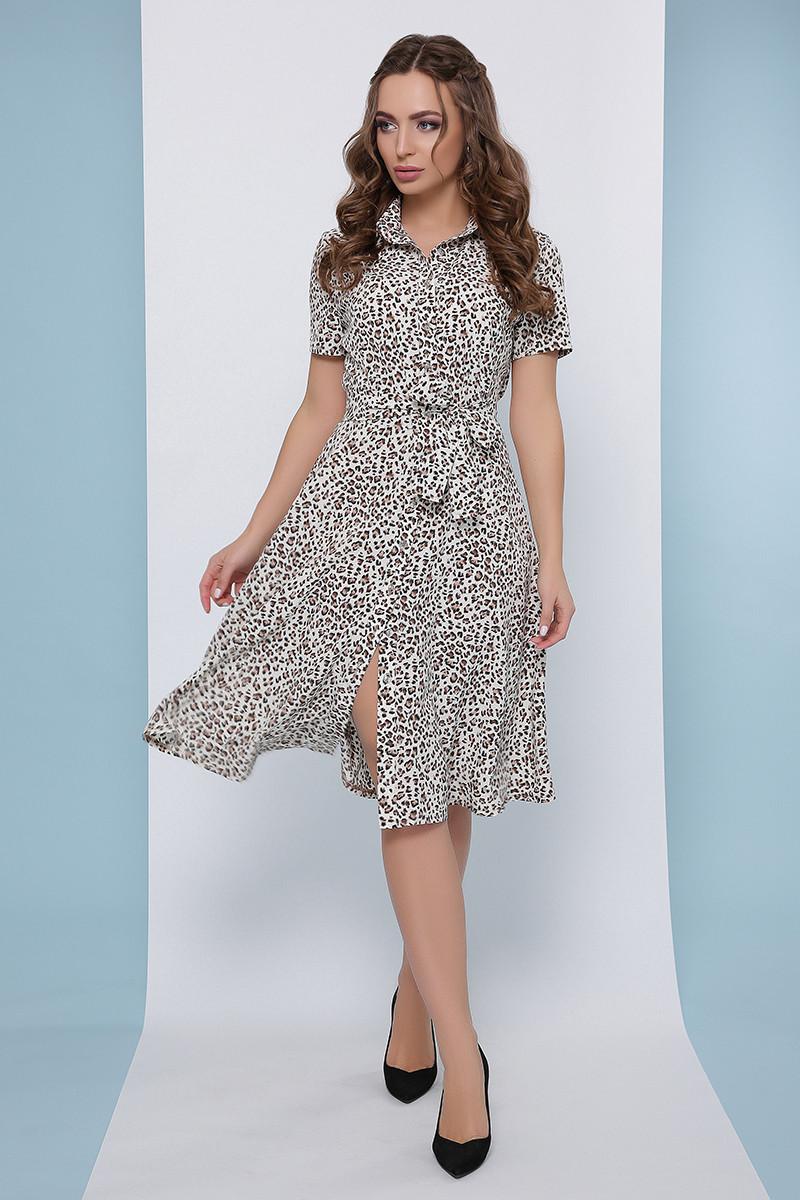 Женское летнее повседневное платье-рубашка Фенди-3