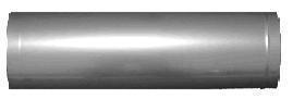 Труба нержавеющая кислотостойкая Ф180мм 1мм 0,5м 304 сталь