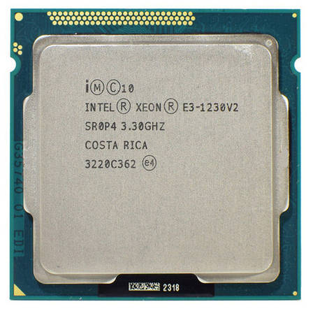 Процессор Intel® Xeon® E3-1230 v2, LGA1155 up to 3.70GHz (i7-3770), фото 2