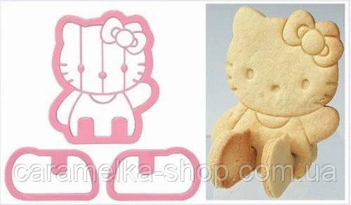 Высокопрочная Вырубка для пряников Hello Kitty, 3D