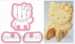 Високоміцна Вирубка для пряників Hello Kitty, 3D