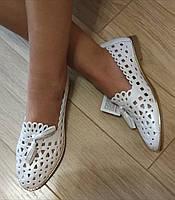 Versace ! Стильные женские белые летние кожаные балетки туфли в стиле версаче натуральная кожа