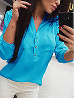 Женская блуза,ткань софт,размеры:42-44,46-48,50-52., фото 1