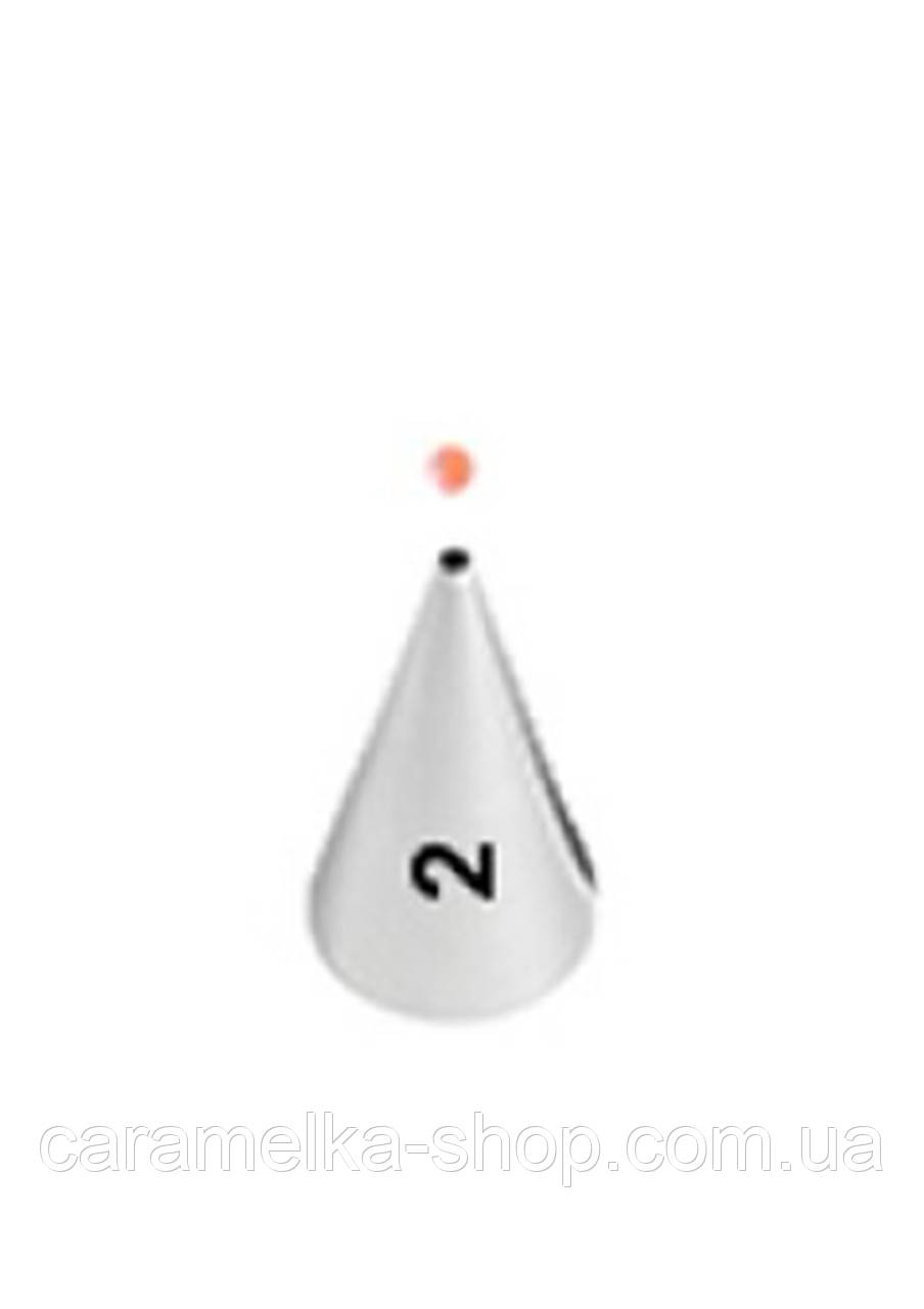 Насадка кондитерская для надписей №2