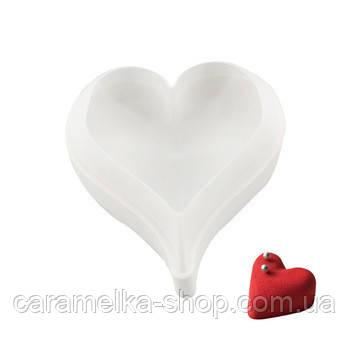 Силиконовая форма для евродесертов Valentino Heart