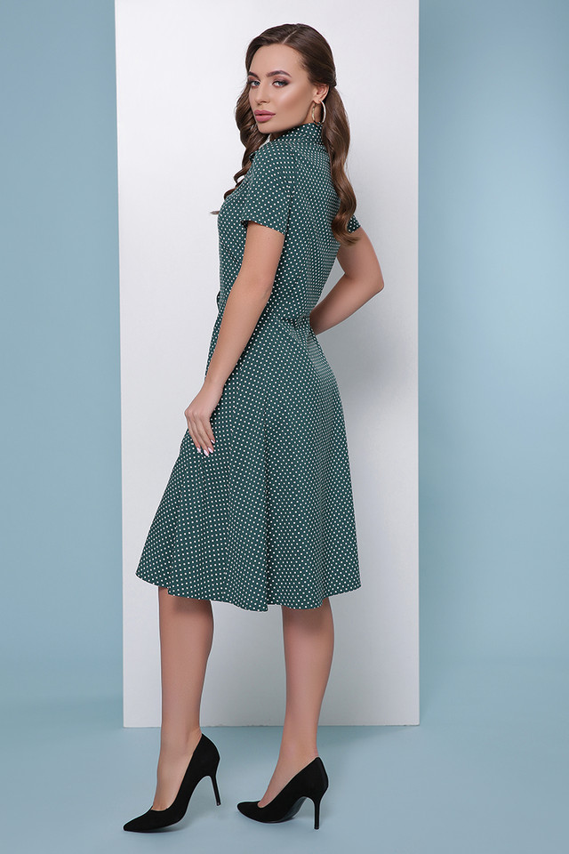 Фото-1 Женского летнего повседневного платья-рубашки Моника-1