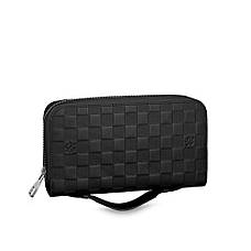 Мужской портмоне Louis Vuitton Zippy XL Damier Infini, фото 2