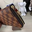 Мужской портмоне Louis Vuitton Zippy Vertical Damier Ebene, фото 3