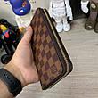 Мужской портмоне Louis Vuitton Zippy Vertical Damier Ebene, фото 4