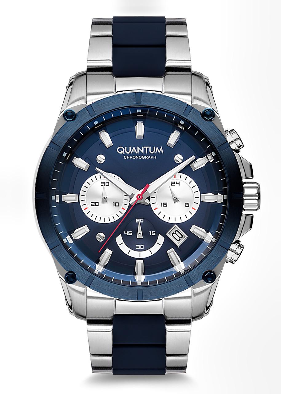 Часы мужские Quantum PWG673.390 серебряные