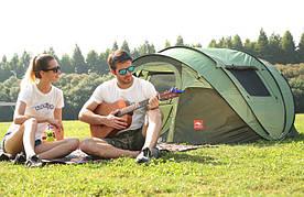 Автоматическая туристическая водонепроницаемая палатка / тент для кемпинга 5-8 чел.