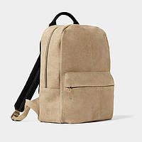 Мужской замшевый рюкзак Zara