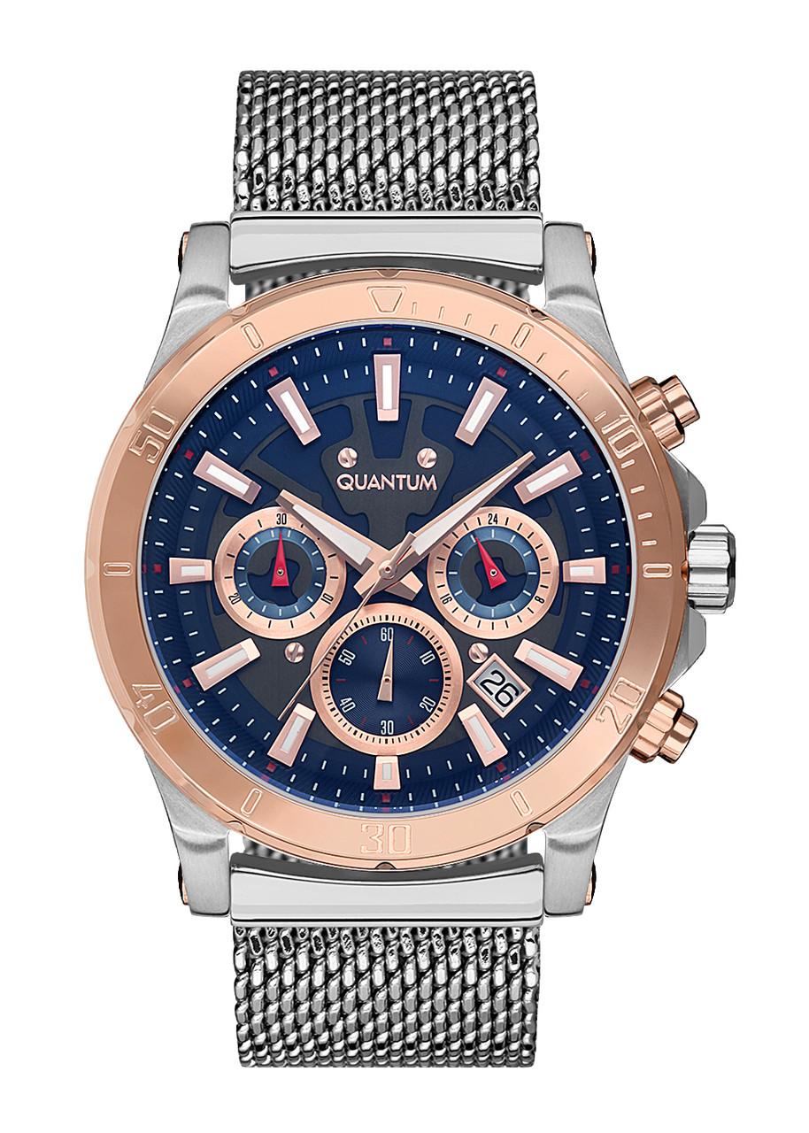 Часы мужские Quantum PWG676.560 серебряные