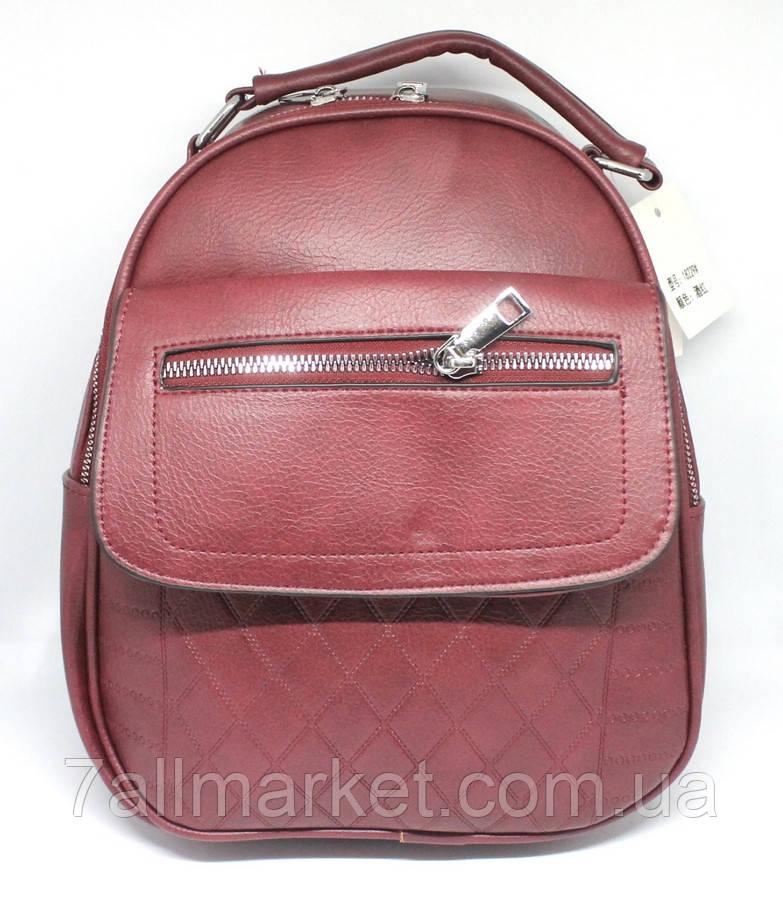 ce4b3bdb1e2b Рюкзак женский cтильный кожзам, размер 30*25*12,5 см (4 цв)