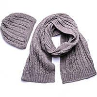 Набор шапка, шарф SVTR 1 Капучино 3-й комплект, КОД: 186418