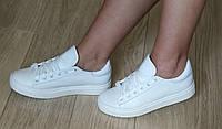 White! Очень красивые Белые стильные кожаные кеды обувь весна лето для девочек и женщин