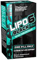 Жиросжигатель Nutrex Lipo 6 Black Hers ultra concentrate 60 caps