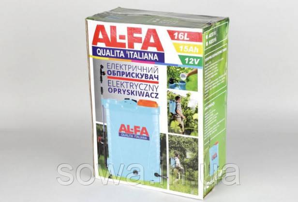 ✔️ Опрыскиватель аккумуляторный AL-FA | 16Л, 15 Ач